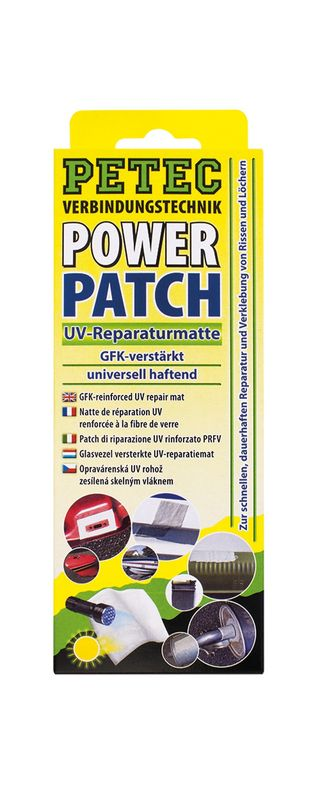 Petec POWER Patch 75 x 150 mm Matte SB-Karte 85150