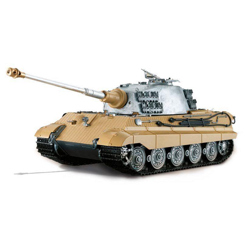 Torro 1:16 RC Panzer Königstiger IR unlackiert 1110000612 – Bild 2