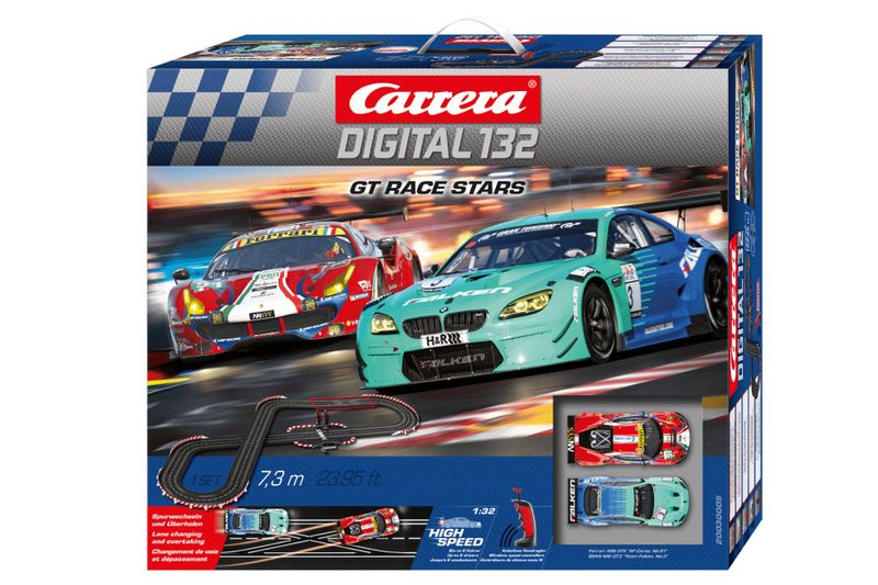 Carrera Digital 132 GT Race Stars Startset 30005