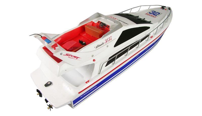 Amewi RC Rennboot, Speedboot  Yacht Atlantic L 73cm 26005 2,40GHz – Bild 4