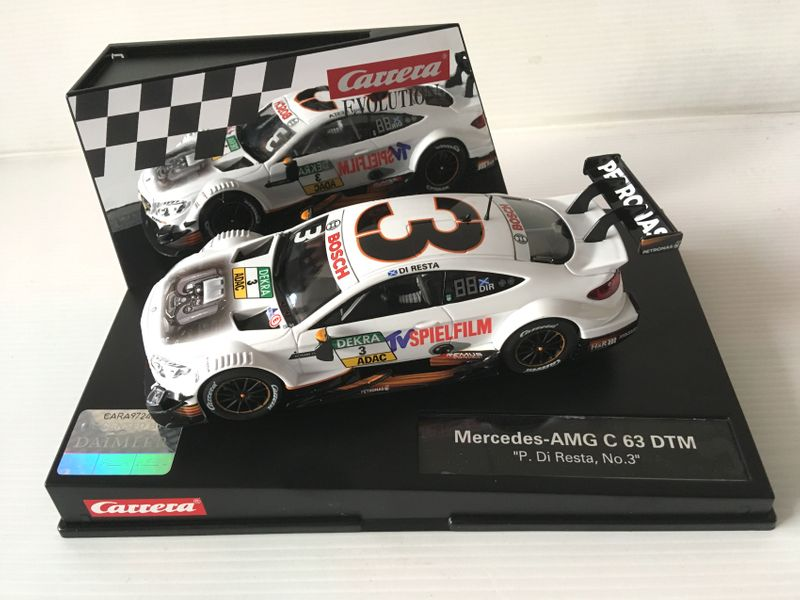 "Carrera Evolution Mercedes-AMG C 63 DTM ""P.Di Resta, No.3"" 27573"