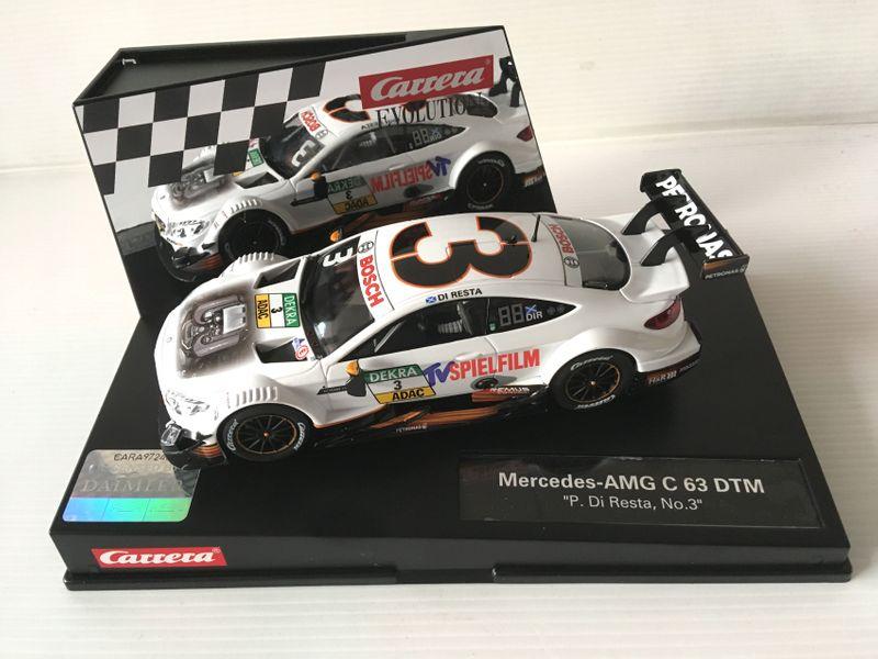 """Carrera Evolution Mercedes-AMG C 63 DTM """"P.Di Resta, No.3"""" 27573"""