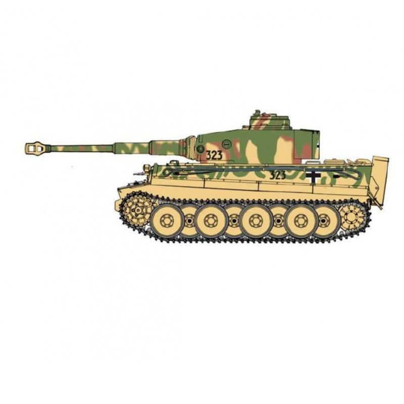 Italeri 1:35 1:35 Pz.Kpfw.VI Ausf.E Tiger Early Prod. 6557