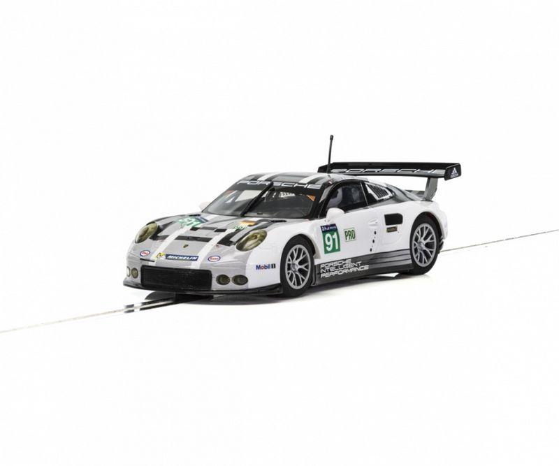 Scalextric 1:32 Porsche 911 991 GTE LeMans 2016 HD C3944
