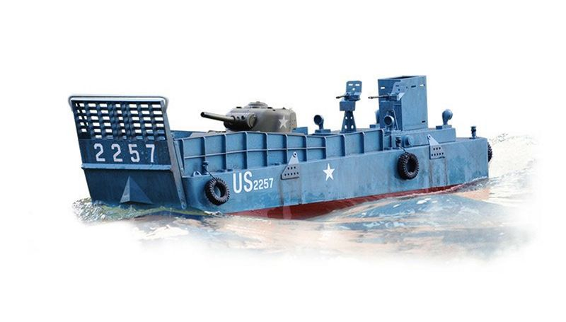 Torro 1:16 RC Landungsboot LCM 3 Normandy 1944 Omaha Beach 1149900001 – Bild 2