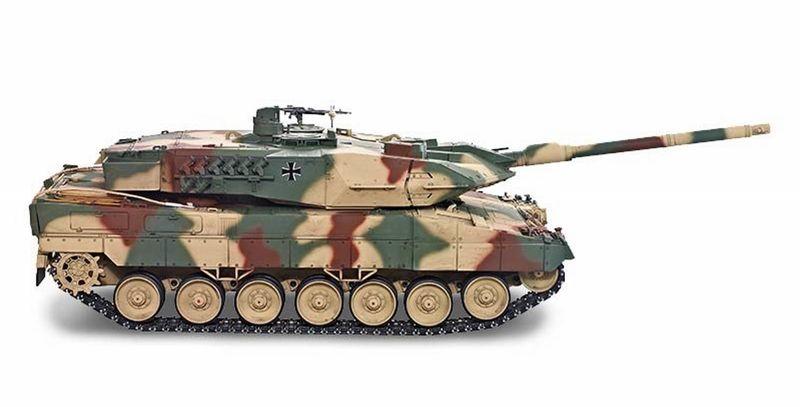Torro RC Panzer Leopard 2A6 IR 1:16 Profi- Edition Metall 1113889001 – Bild 2
