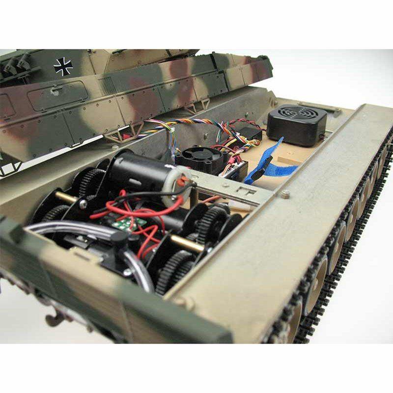 Torro RC Panzer Leopard 2A6 IR 1:16 Profi- Edition Metall 1113889001 – Bild 5