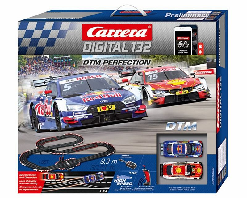 Carrera Digital 132 DTM Perfection Startset 30006