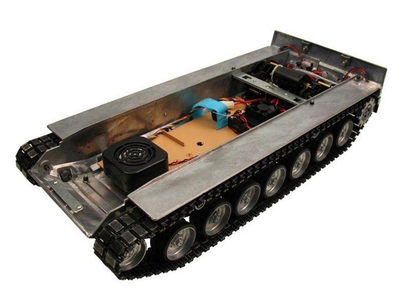 Torro 1:16 Metallunterwanne Leopard 2A6 mit Getriebe und Elektronic 1213889007