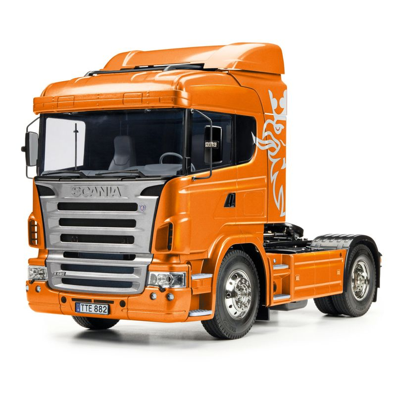 Tamiya 1:14 RC Scania R470 4x2 Orange met.Vorl. 56338