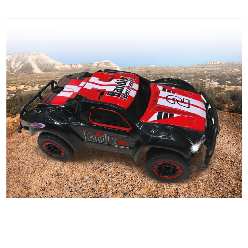 Jamara 1:43 RC Bandix rednexx 2.0 Monstertruck 4WD 2,4G + Licht 410057 – Bild 2