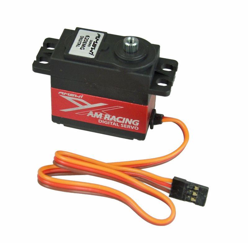 Amewi AMX Racing 6208MG Digital Servo, Standard 8,2kg 0,07sec 28916 – Bild 2