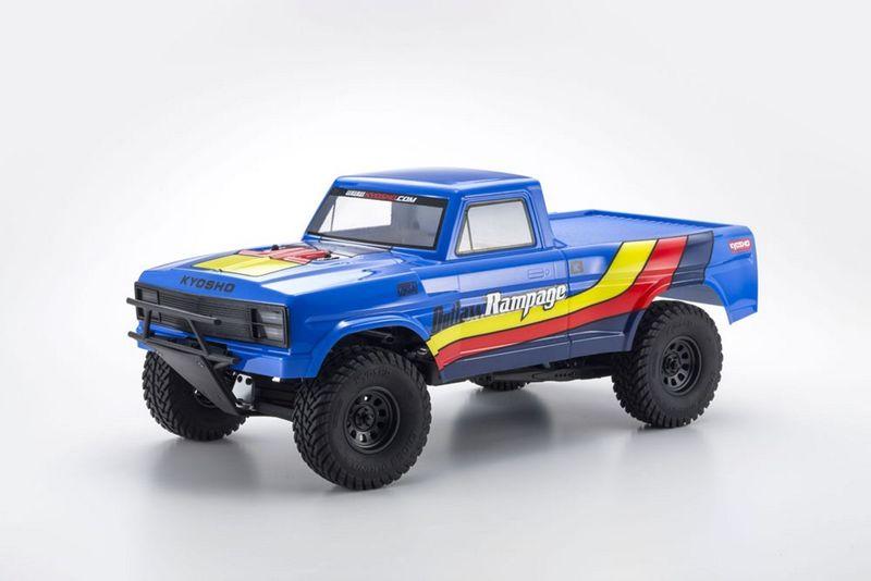 Kyosho OUTLAW RAMPAGE 1:10 2WD RC TRUCK Blau RTR mit Akku 34361T2B – Bild 2