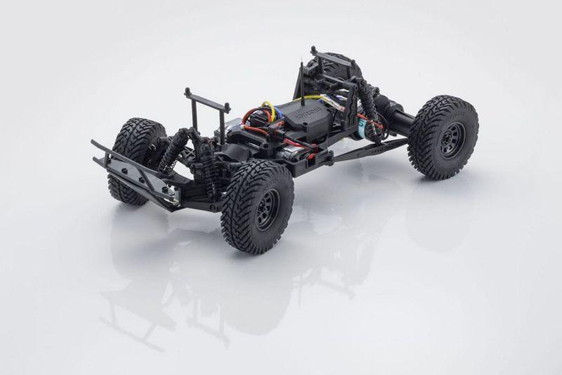 Kyosho OUTLAW RAMPAGE 1:10 2WD RC TRUCK Blau RTR mit Akku 34361T2B – Bild 4