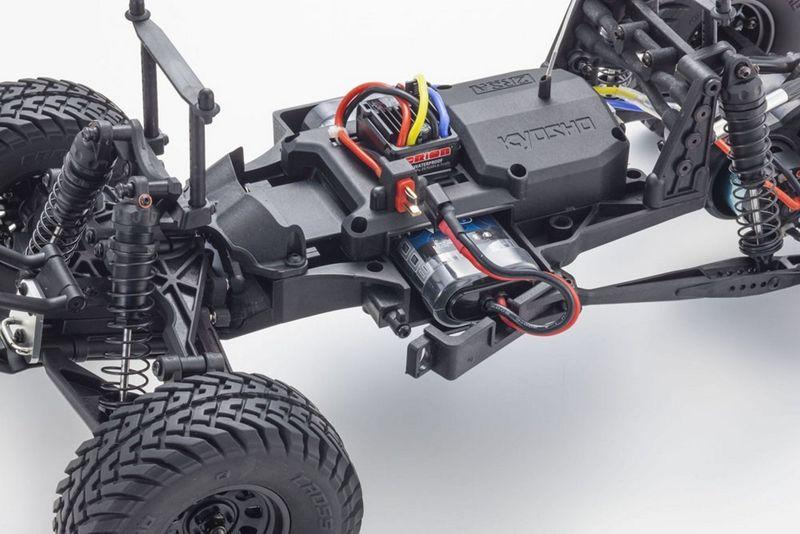 Kyosho OUTLAW RAMPAGE 1:10 2WD RC TRUCK Blau RTR mit Akku 34361T2B – Bild 5