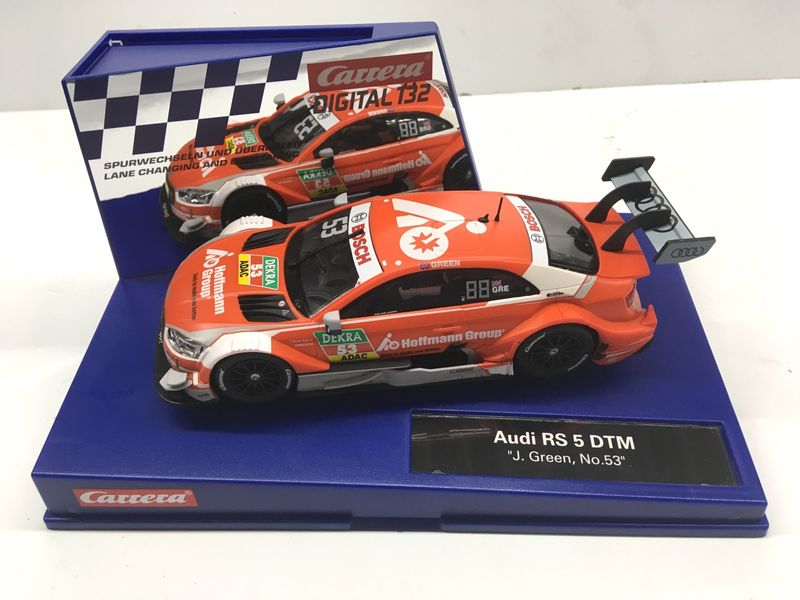"Carrera Digital 132 Audi RS 5 DTM ""J. Green, No.53"" 30837"
