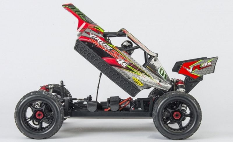 Carson 1:8 Virus Race 4.1 4S BL 2.4G 100% RTR brushless Truggy 500409024 – Bild 2