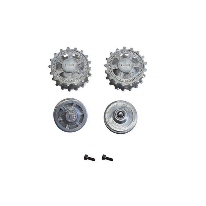 Torro 1:16 Metall Antriebs- u. Leiträder Panther F 1383879002