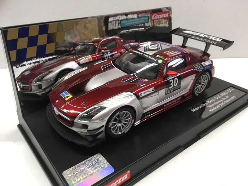 Carrera Digital 124 Mercedes SLS AMG GT3 Ram Racing, No.30 23864 – Bild 2