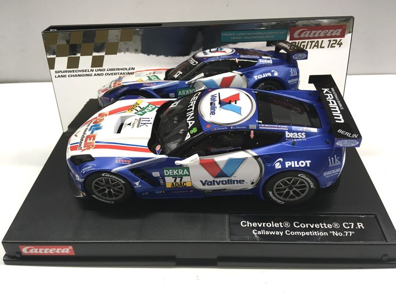 Carrera Digital 124 Chevrolet Corvette C7.R Callaway Competition No. 77 23860 – Bild 1