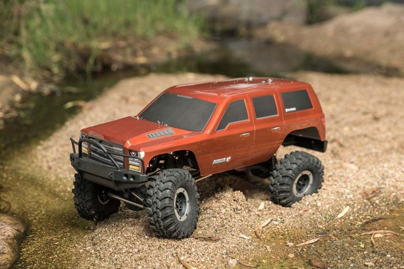 Redcat RC Crawler Gen7 SPORT - ORANGE EDITION 1:10 RC00004 – Bild 2