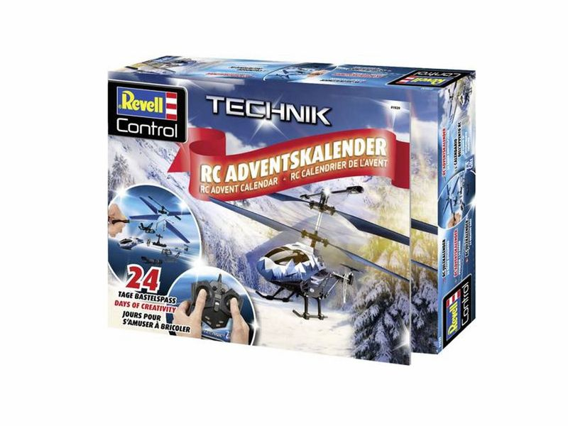 revell 01020 adventskalender rc helikopter 2018 adventskalender rc modelle revell control cars. Black Bedroom Furniture Sets. Home Design Ideas