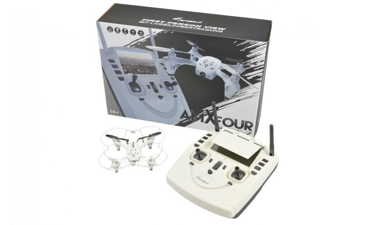 Amewi AM X-FOUR FPV Copter mit Sender- LCD Display 25182 – Bild 1