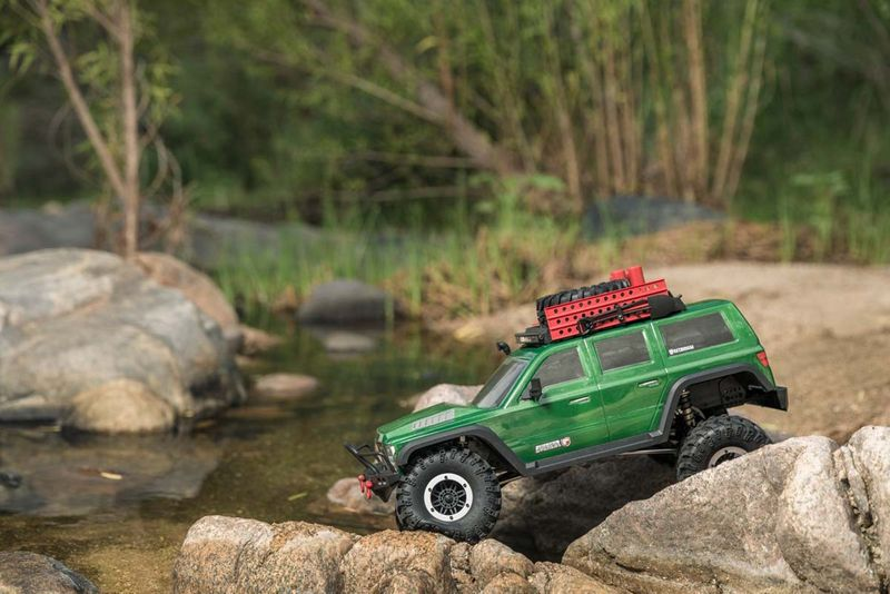 Redcat RC Crawler Gen7 PRO - Green EDITION 1:10 RC00002 – Bild 1