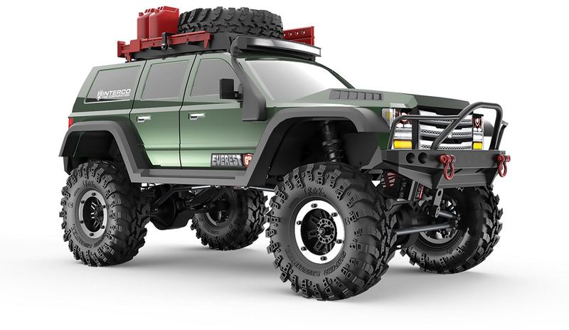 Redcat RC Crawler Gen7 PRO - Green EDITION 1:10 RC00002 – Bild 3