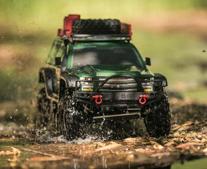 Redcat RC Crawler Gen7 PRO - Green EDITION 1:10 RC00002 – Bild 5