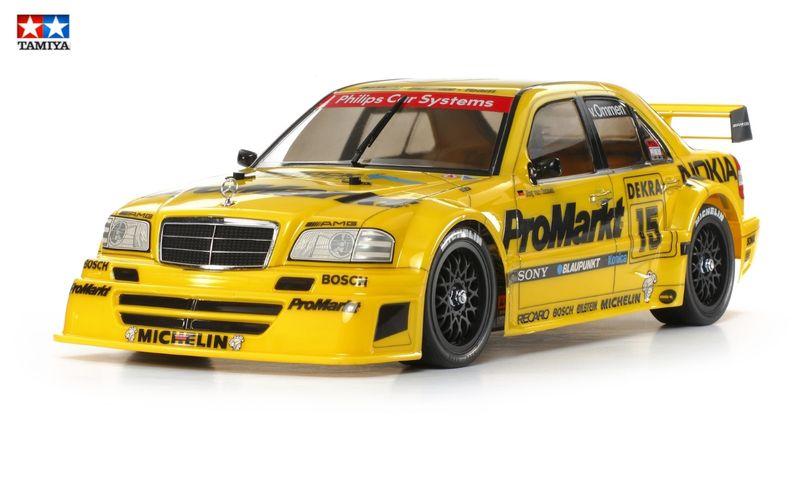 Tamiya 1:10 Karosserie ProMarkt-Zakspeed Mercedes C-Klasse DTM unlackiert