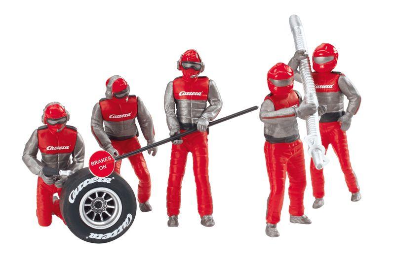 Carrera Digital 132/124/Evolution, Figurensatz, Mechaniker Carrera Rot 21131 – Bild 2
