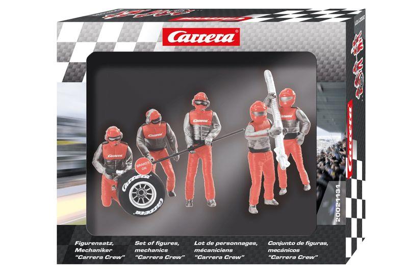 Carrera Digital 132/124/Evolution, Figurensatz, Mechaniker Carrera Rot 21131 – Bild 1