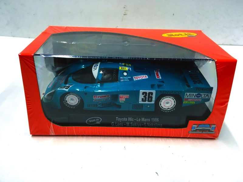 Slot.it 1:32 Toyota 86C No.36 Le Mans 1986  CA41A – Bild 2