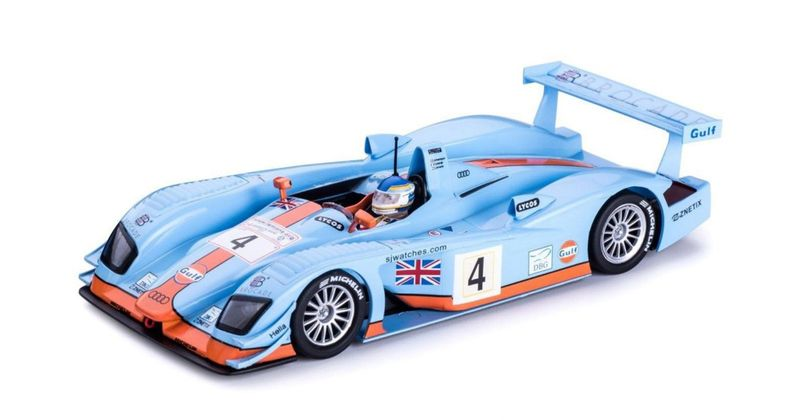 Slot.it 1:32 Audi R8 LMP No.4 24h Le Mans 2001 CA33B – Bild 1