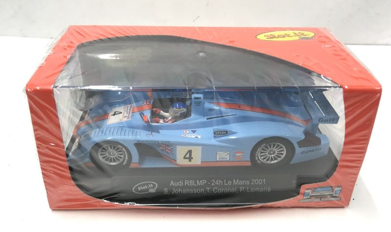 Slot.it 1:32 Audi R8 LMP No.4 24h Le Mans 2001 CA33B – Bild 2