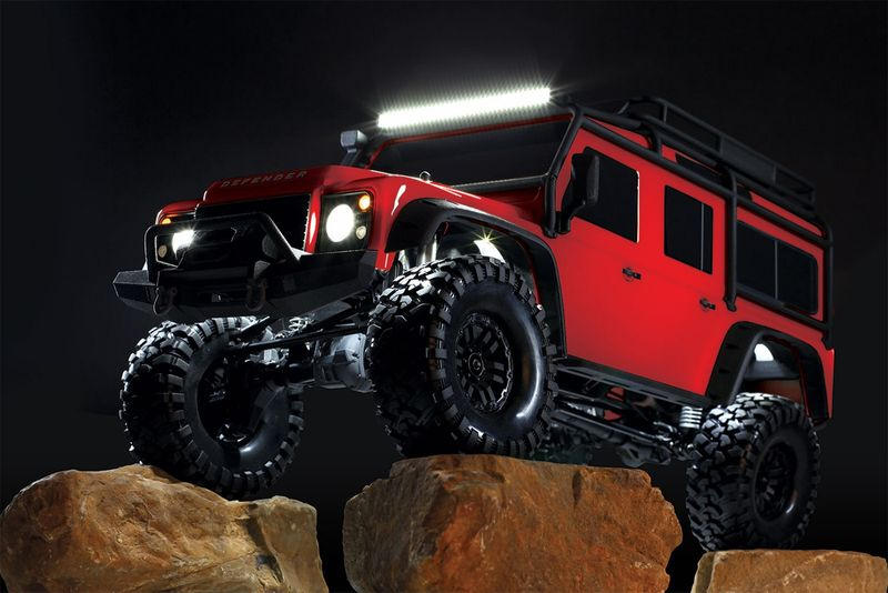 Traxxas LED LIGHTBAR KIT (RIGID)/POWER SUPPLY 8030 für TRX-4 Defender – Bild 2