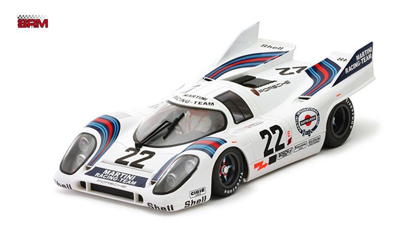 BRM Slotcar 1:24 Porsche 917K Le Mans 1971 No. 22 BRM063