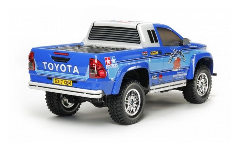 Tamiya 1:10 RC Toyota Hilux Extra Cab CC-01 58663 Bausatz mit Lichteinheit – Bild 3