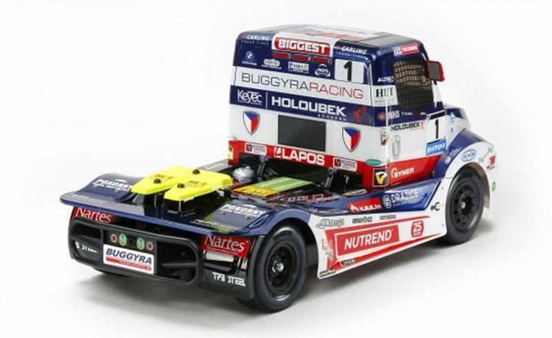 Tamiya 1:14 Buggyra Racing Fat Fox Truck TT-01E Chassis 58661 Bausatz – Bild 3