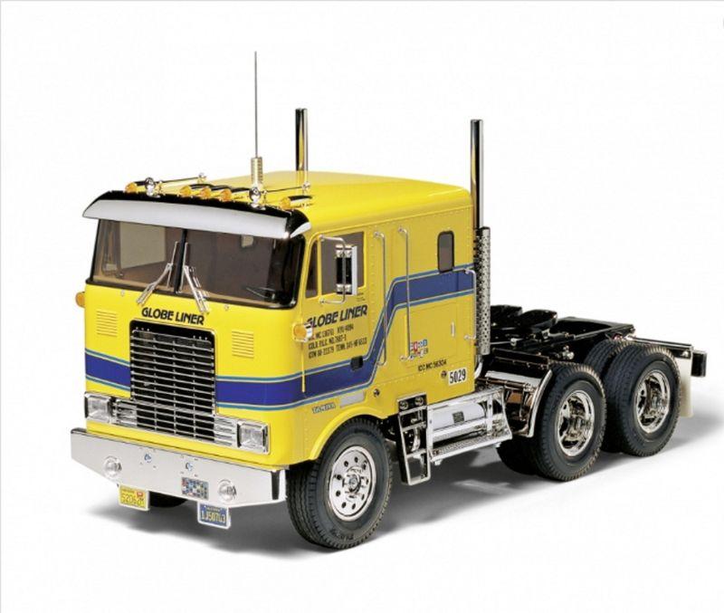 TAMIYA 1:14 RC US Truck Globe Liner Cab Over Bausatz 56304