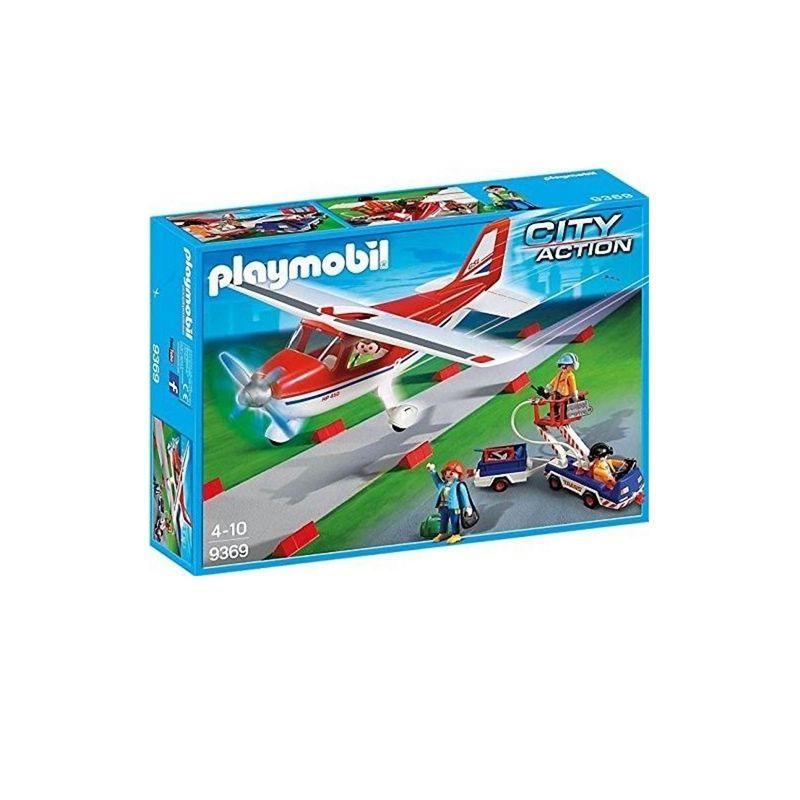 PLAYMOBIL® City Action Flugzeug mit Tankwagen 9369