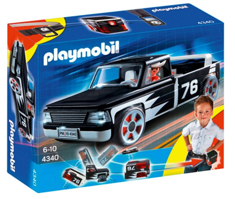 PLAYMOBIL® 4340 Click & Go Pick-Up Truck mit Figur