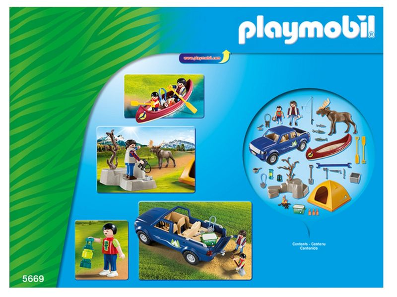 PLAYMOBIL® 5669 Wildlife Campingausflug mit Pick-Up Truck – Bild 2