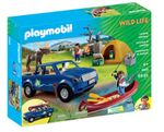 PLAYMOBIL® 5669 Wildlife Campingausflug mit Pick-Up Truck
