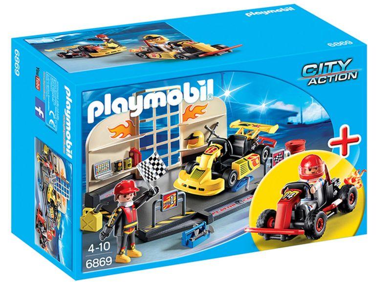 PLAYMOBIL® 6869 StarterSet Gokart-Werkstatt – Bild 1