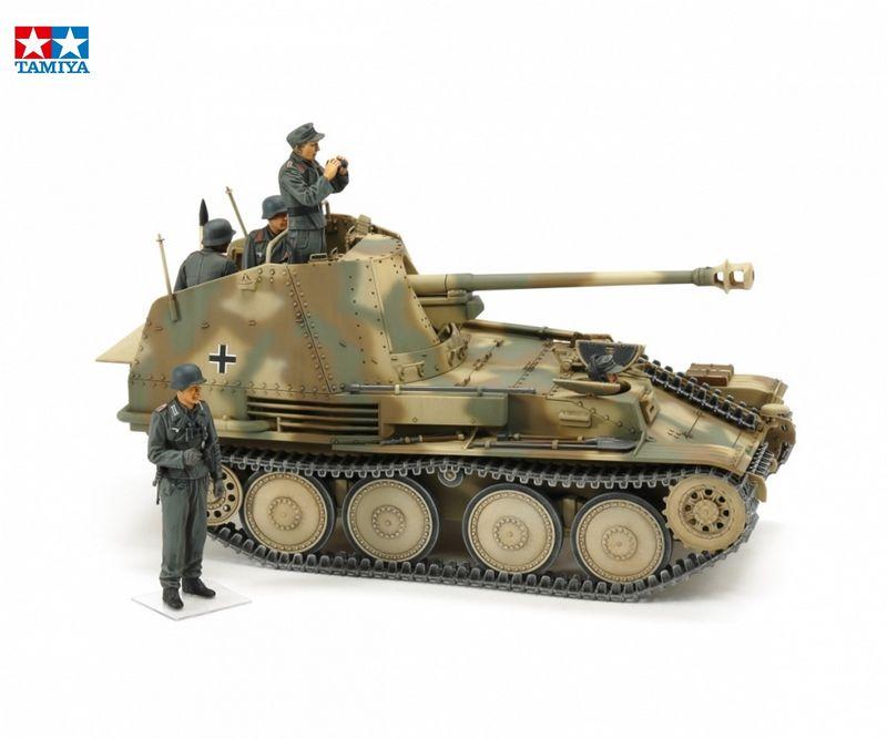 Tamiya 1:35 WWII Deutscher Jagdpanzer Marder III Normandie Bausatz 35364