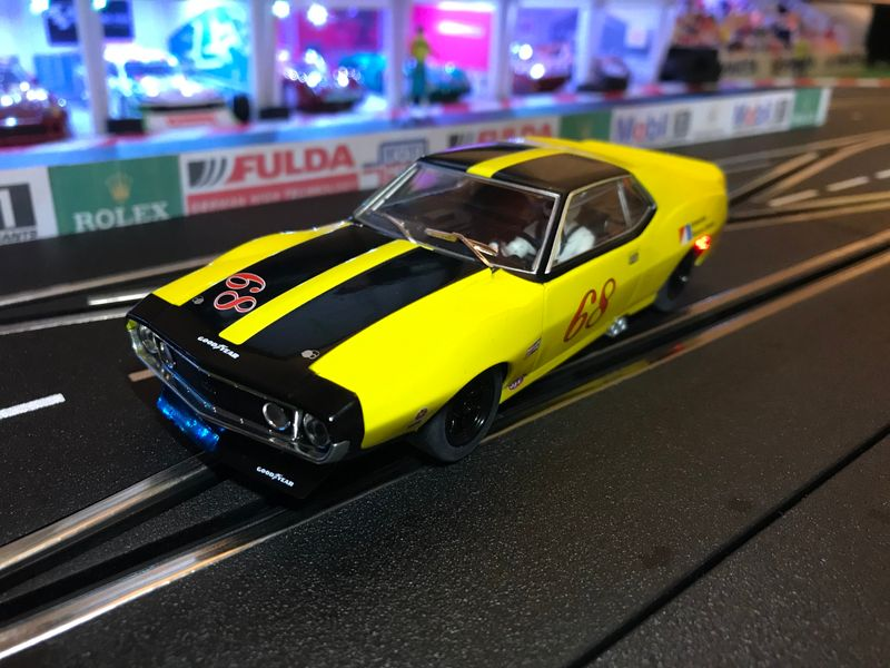Scalextric 1:32 AMX Javelin Trans Am 1971 #68 HD C3921 für Carrera Digital 132 – Bild 1