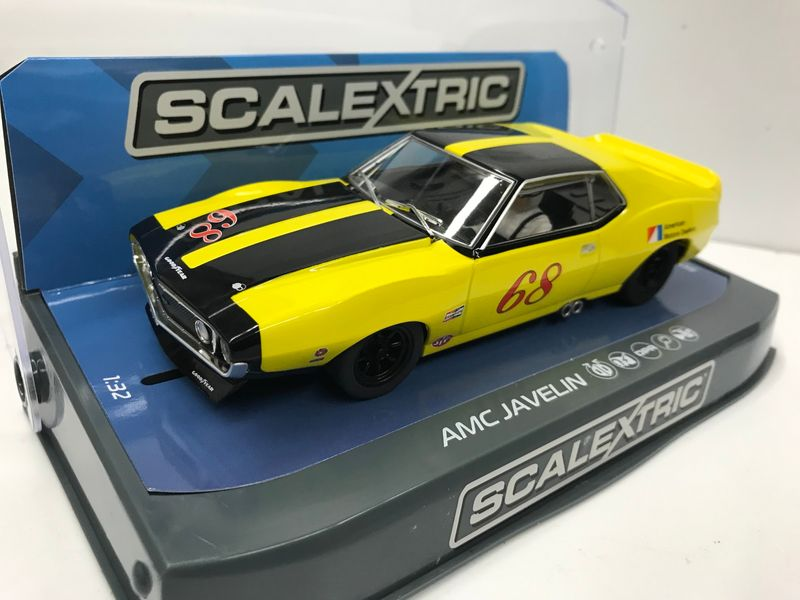 Scalextric 1:32 AMX Javelin Trans Am 1971 #68 HD C3921 für Carrera Digital 132 – Bild 4