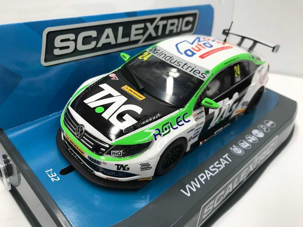 Scalextric 1 32 Vw Passat Cc Ngtc Btcc17 24 Hd C3918 Fur Carrera Digital 132